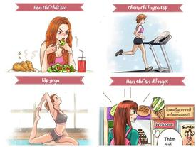 Học ngay những thói quen này, không phải giảm cân một cách khổ sở mà vẫn có dáng đẹp