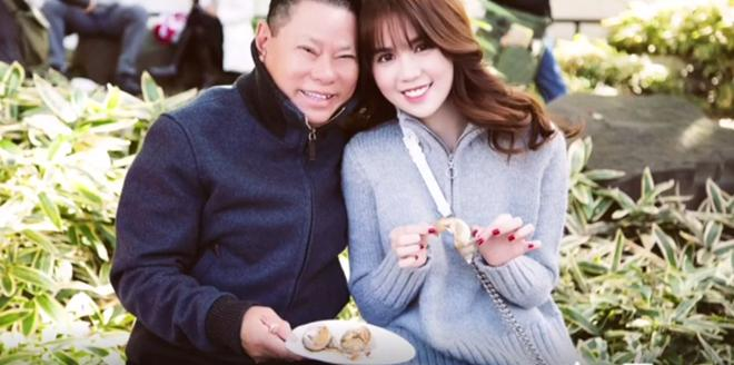 Ty phu Hoang Kieu va Ngoc Trinh cong khai hinh anh than mat hinh anh 1