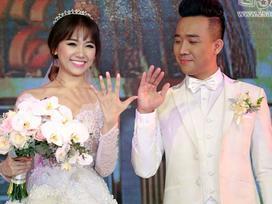 """Những điều tuyệt vời và ấn tượng nhất trong """"đám cưới vàng"""" Trấn Thành – Hari Won"""