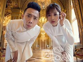 Trọn bộ ảnh cưới đẹp long lanh của Trấn Thành - Hari Won chụp tại Paris