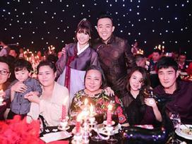 Ngắm lại mẹ ruột, 2 em gái và gia đình người Hàn của Hari Won trong đám cưới