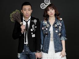 Hết lãng mạn tại Pháp, Trấn Thành - Hari Won tung bộ ảnh cưới siêu nhí nhảnh