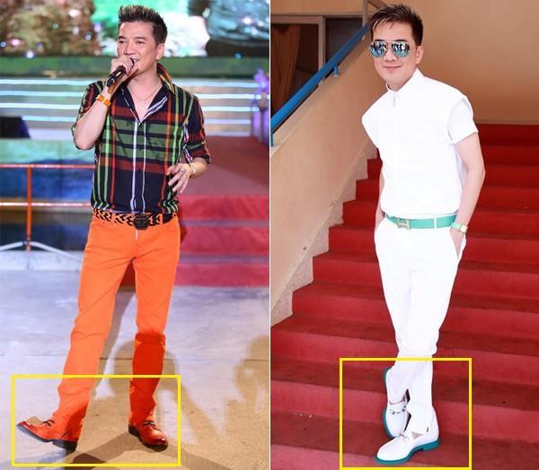 Không riêng gì Trấn Thành, có rất nhiều sao nam sử dụng giày độn đế để tránh lép vế - Ảnh 10.