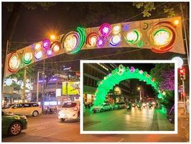 Sài Gòn lung linh chào xuân Đinh Dậu 2017