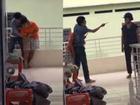 Thanh niên ngáo đá dùng dao khống chế con tin tại Nha Trang