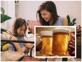 Cô con gái hiến kế cho mẹ để bố không đi uống bia nữa