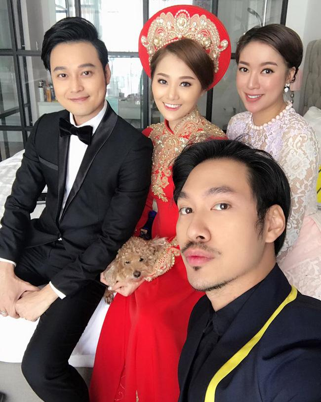 Quang Vinh vui mừng trong ngày cưới của cô em gái đẹp như hoa - Ảnh 7.