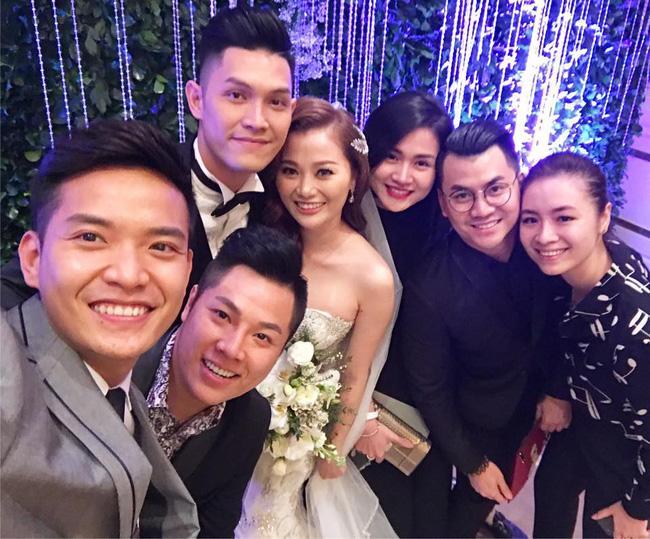 Quang Vinh vui mừng trong ngày cưới của cô em gái đẹp như hoa - Ảnh 6.