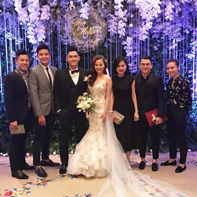 Quang Vinh vui mừng trong ngày cưới của cô em gái đẹp như hoa - Ảnh 5.