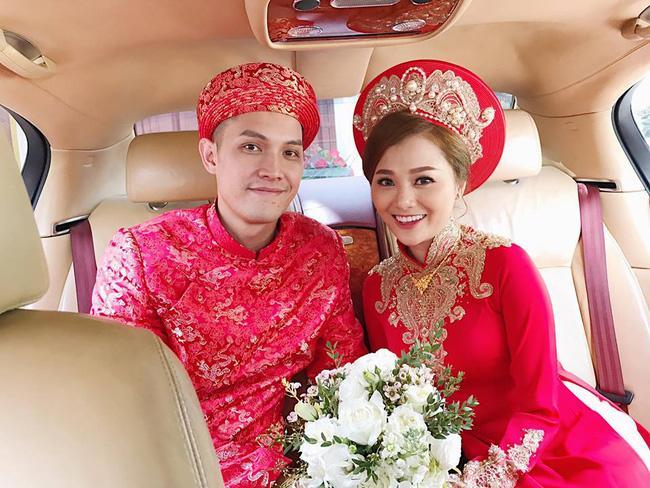 Quang Vinh vui mừng trong ngày cưới của cô em gái đẹp như hoa - Ảnh 4.