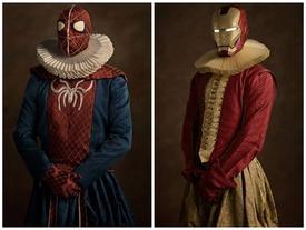 """Khi các """"siêu anh hùng"""" trong trang phục """"quý tộc"""" thì sẽ như thế nào? Mời các bạn xem loạt ảnh dưới đây để rõ."""