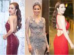 Thời trang sao Việt đẹp: Loạt mỹ nhân khoe đường cong rạo rực đón năm mới