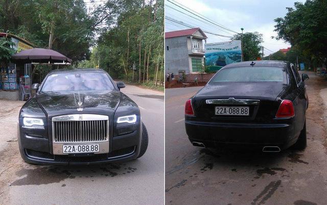Rolls-Royce Ghost 27 tỷ Đồng của đại gia Tuyên Quang đeo biển tứ quý 8 - Ảnh 1.