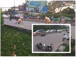 TP. HCM: Tai nạn kinh hoàng, ô tô húc bay 8 xe máy khiến nhiều người bị thương