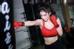 Cô nàng cũng là một fan của bộ môn thể thao đòi hỏi sức bền và dẻo dai của người luyện tập - võ quyền anh