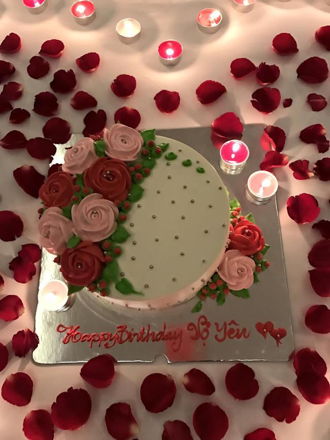 Tranh thủ chuyến lưu diễn, Tim bí mật tổ chức sinh nhật lãng mạn cho Trương Quỳnh Anh - Ảnh 5.