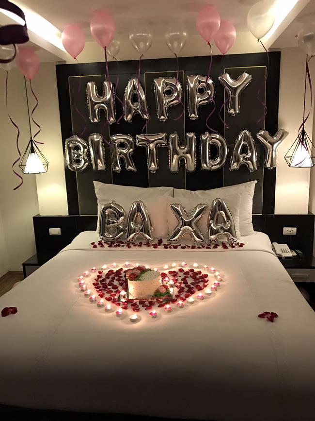 Tranh thủ chuyến lưu diễn, Tim bí mật tổ chức sinh nhật lãng mạn cho Trương Quỳnh Anh - Ảnh 6.