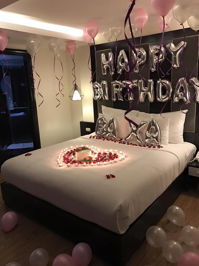Tranh thủ chuyến lưu diễn, Tim bí mật tổ chức sinh nhật lãng mạn cho Trương Quỳnh Anh - Ảnh 7.