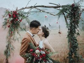 Có gì trong lễ cưới bí mật đẹp thoát tục của cặp đôi Việt được báo Tây ca ngợi hết lời?