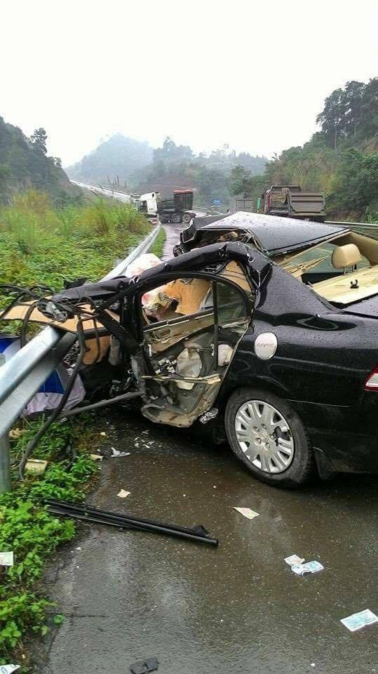 Tai nạn trên cao tốc Nội Bài – Lào Cai, giám đốc chi nhánh ngân hàng tử vong tại chỗ - Ảnh 2.