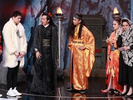 """Hoài Linh cũng phải """"cạn lời"""" khi gặp màn đối đáp của Trịnh Thăng Bình"""