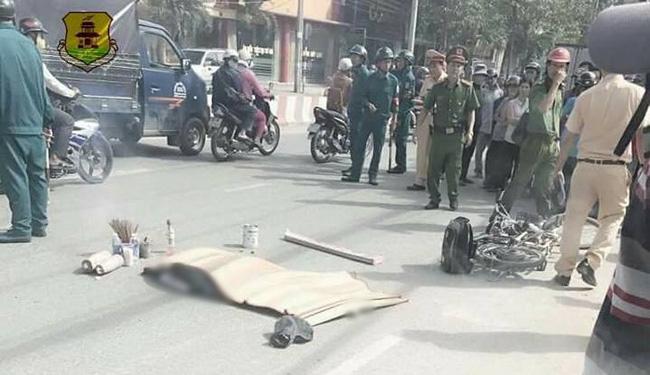 Người mẹ gào khóc khi chứng kiến con gái 16 tuổi bị xe ben cán tử vong ở Biên Hòa - Ảnh 2.