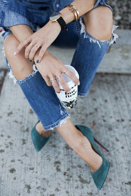 Giày cao gót và những quy tắc kết hợp màu sắc chuẩn chỉnh cùng trang phục - Ảnh 6.