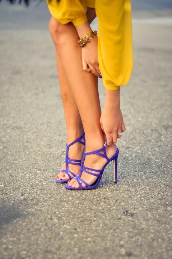 Giày cao gót và những quy tắc kết hợp màu sắc chuẩn chỉnh cùng trang phục - Ảnh 23.