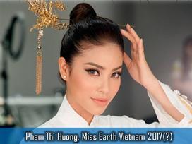 Rộ tin Phạm Hương thi Hoa hậu Trái đất 2017, fan quốc tế ủng hộ tưng bừng