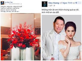 Trước tin đồn chia tay bạn trai tỷ phú Hoàng Kiều, Ngọc Trinh đáp trả