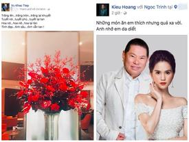 """Trước tin đồn chia tay bạn trai tỷ phú Hoàng Kiều, Ngọc Trinh đáp trả """"Khùng""""!"""