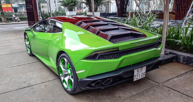 Siêu xe Lamborghini Huracan xanh cốm phượt ra Huế - Ảnh 5.