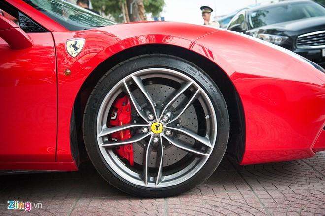 Sieu xe mui tran Ferrari 488 GTB Spider thu 2 ve Viet Nam hinh anh 4