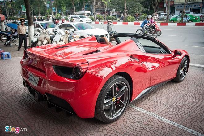 Sieu xe mui tran Ferrari 488 GTB Spider thu 2 ve Viet Nam hinh anh 3