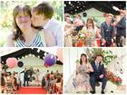 Anh: Bộ ảnh cưới cảm động của cặp đôi mắc hội chứng Down chứng minh tình yêu có thể vượt qua tất cả