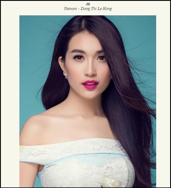 Nhan sắc của Lệ Hằng chỉ xếp hạng 46 tại Miss Universe 2016...?-1