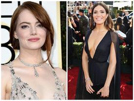 """Dàn sao Hollywood diện váy áo """"chen chúc"""" nhau trên thảm đỏ Quả Cầu Vàng 2017"""