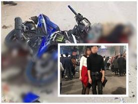 Công an điều tra cái chết của đôi nam nữ tử nạn trên đường về Hà Nội sau khi uống rượu