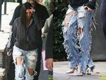 Kim Kardashian có cả một tủ những chiếc quần jeans