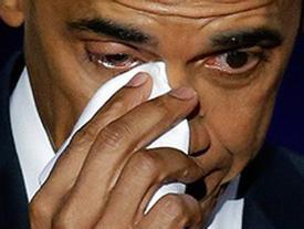 Tổng thống Obama rơi nước mắt nói cảm ơn vợ trong bài phát biểu chia tay