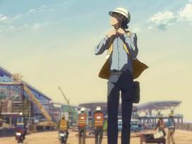 Sân bay Nội Bài xuất hiện tuyệt đẹp trong clip anime của đạo diễn nổi tiếng Nhật Bản