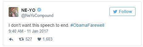 Loạt sao thế giới tiếc nuối khi ông Obama chia tay Nhà Trắng - Ảnh 6.