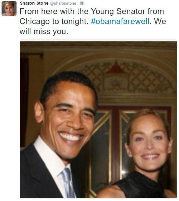 Loạt sao thế giới tiếc nuối khi ông Obama chia tay Nhà Trắng - Ảnh 8.
