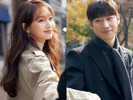 Làng giải trí Hàn có thêm một cặp trai tài gái sắc