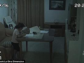 Lắp camera an ninh trong nhà, ông bố thu được kết quả đáng sợ