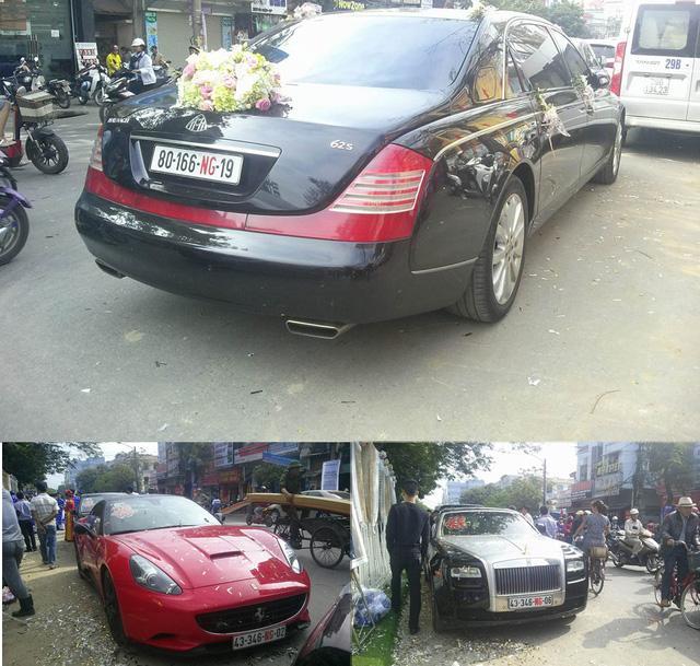 Từ dàn xe siêu sang rước dâu Hoa hậu Bản sắc Việt, học cách luận biển số xe nước ngoài ở Việt Nam - Ảnh 1.