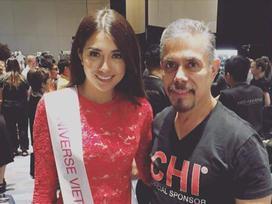 Vừa sang Philippines, Lệ Hằng ghi được thành tích đầu tiên tại Miss Universe 2016