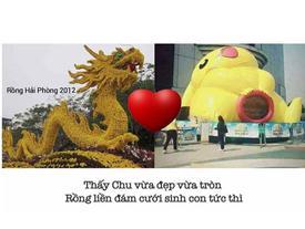 """""""Thánh chế"""" chế chuyện tình rồng và pikachu gây sốt cộng đồng mạng"""