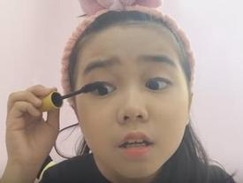 Tranh cãi quanh việc cô nhóc Việt 10 tuổi dạy trang điểm trên youtube