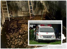 Năm người tử nạn dưới hầm nước mắm không phải do điện giật